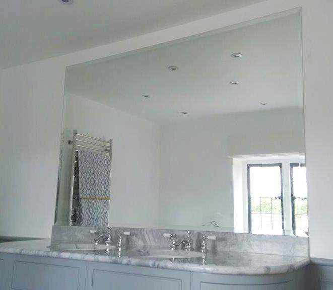 Crawford bathroom mirror