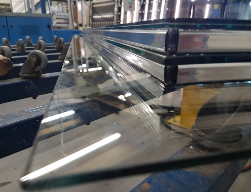 Triple glazed shaped and stepped – IGU for Glassmaster